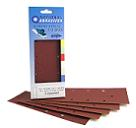 Red Aluminium Oxide<br>93mm x 232mm<br>5 Pack