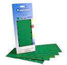 Green Aluminium Oxide<br>115mm x 280mm<br>5 Pack